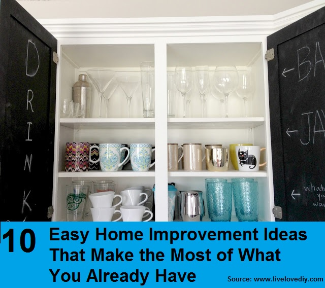 10 Easy Home Improvement Ideas - HOME and LIFE TIPS