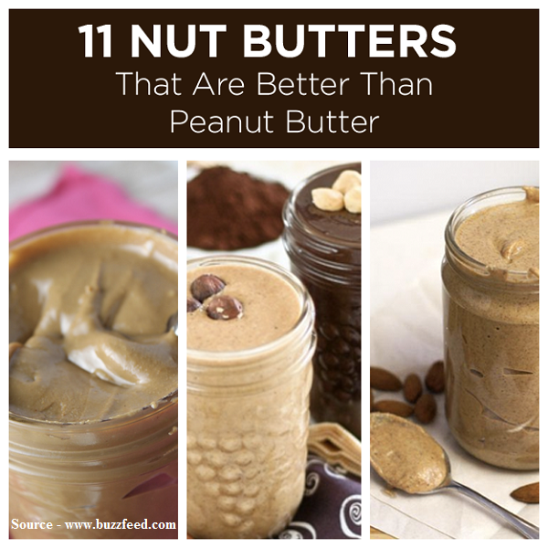 11 Nut Butters That Are Better Than Peanut Butter