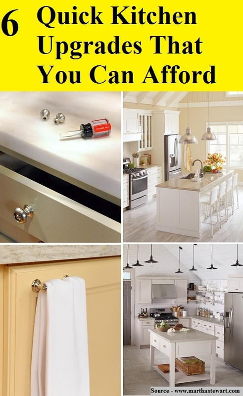 6 Quick Kitchen Upgrades That You Can Afford