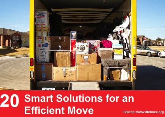 20 Smart Solutions for an Efficient Move