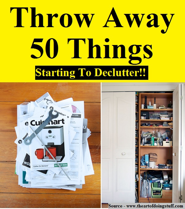 Throw Away 50 Things!