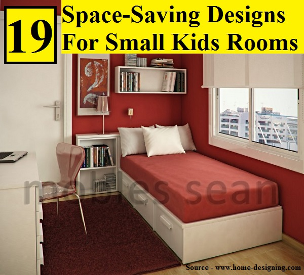 19 space saving designs for small kids rooms home and for Space saver kids room