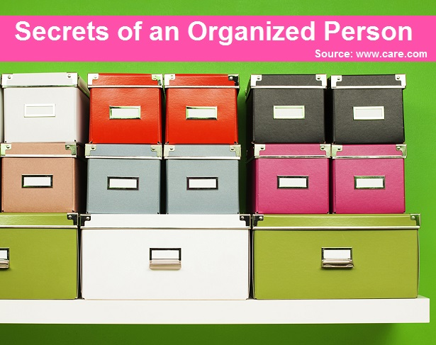 Secrets of an Organized Person