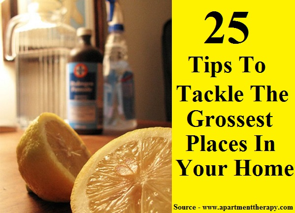 25 Tips to Tackle the Grossest Places