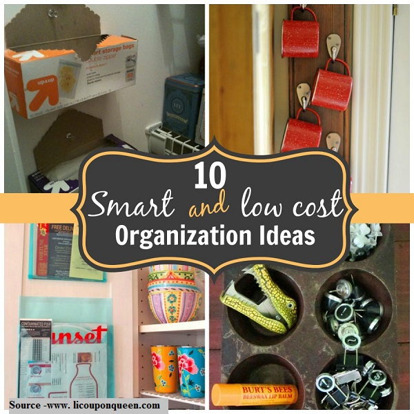 10 smart and low cost organization ideas home and life tips