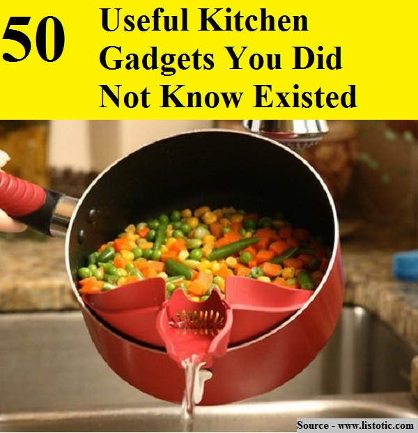 50 Useful Kitchen Gadgets You Did Not Know Existed Home