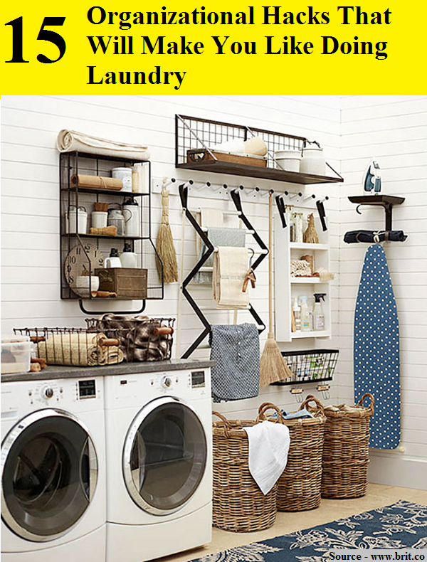 15 Organizational Hacks That Will Make You Like Doing Laundry