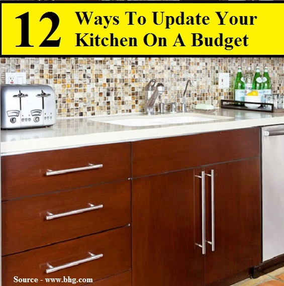 12 Ways To Update Your Kitchen On A Budget